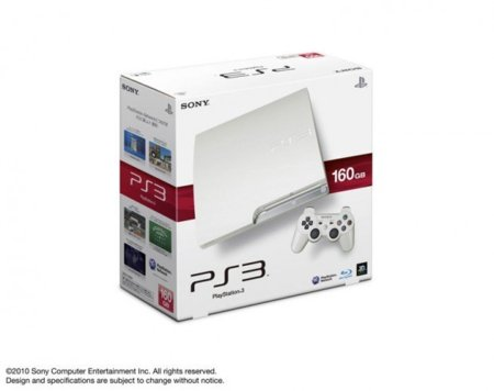 La PlayStation 3 Slim albina, en Japón