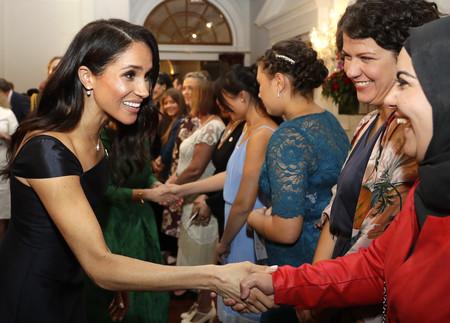 Este es, posiblemente, el vestido que peor le sienta a Meghan Markle desde que anunció su compromiso con el Príncipe Harry