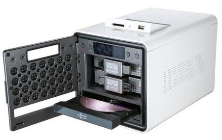 LG N2R1, NAS con grabadora de DVD integrada