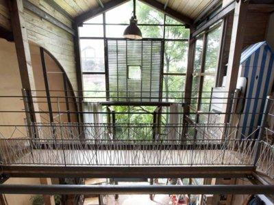 Espaces Atypiques, una casa singular en el bosque de Montreuil