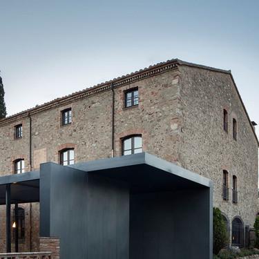 Casa Sant Martí, o como fusionar lo moderno con lo antiguo de manera exitosa y sin perderse en el intento