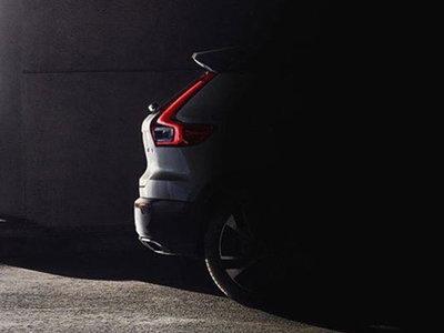 Se filtró la primera imagen del Volvo XC40 y parece que será justo lo que esperamos