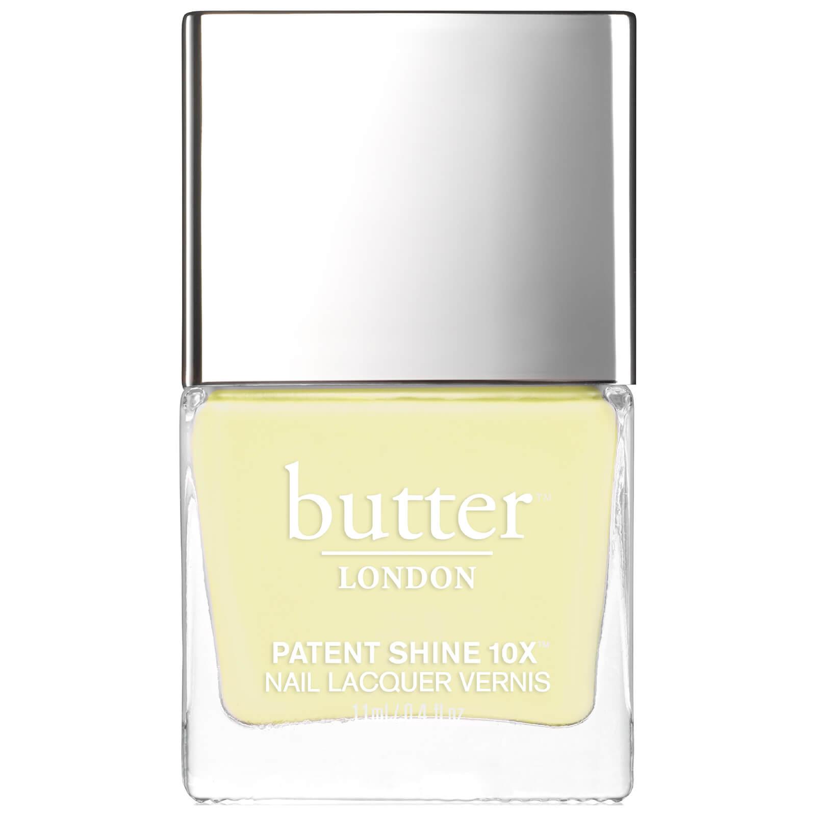 Esmalte de uñas Patent Shine 10X de butter LONDON Lemon Drop