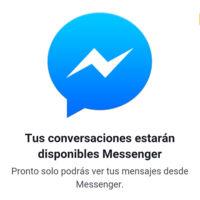 ¡No más chats en web móvil! Facebook te obligará a instalar Messenger