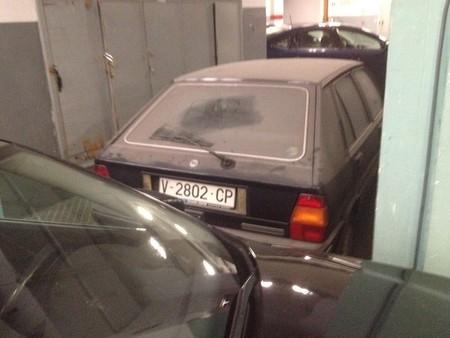 El Lancia Delta abandonado de la alcaldesa de Valencia no veía la luz desde 1991