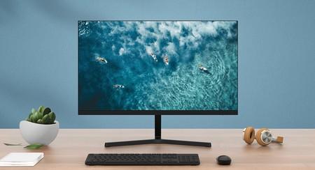 Este monitor de Xiaomi tiene 24 pulgadas, resolución FullHD y un precio de derribo utilizando el cupón de descuento: 105,87 euros