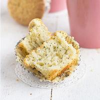 Receta fácil y rápida de muffins de limón y semillas de amapola