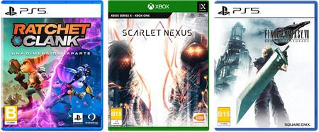 Juegos en preventa de PS5 y Xbox en Amazon México