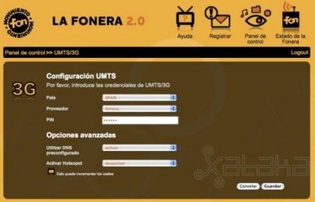 Fonera 3.0 y 3G