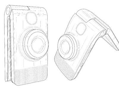 Esta patente no es de un móvil de hace quince años, sino de la última ¿cámara? de Google