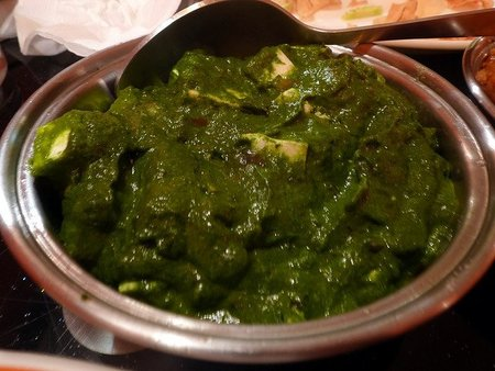 Introducción a la comida india: el Palak Paneer