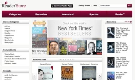"""Sony abre su """"nueva"""" tienda de libros"""