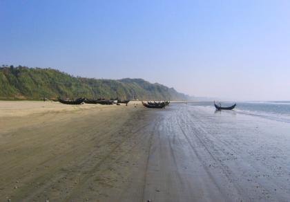 Cox's Bazar: una de las playas más grandes del mundo, en Bangladesh