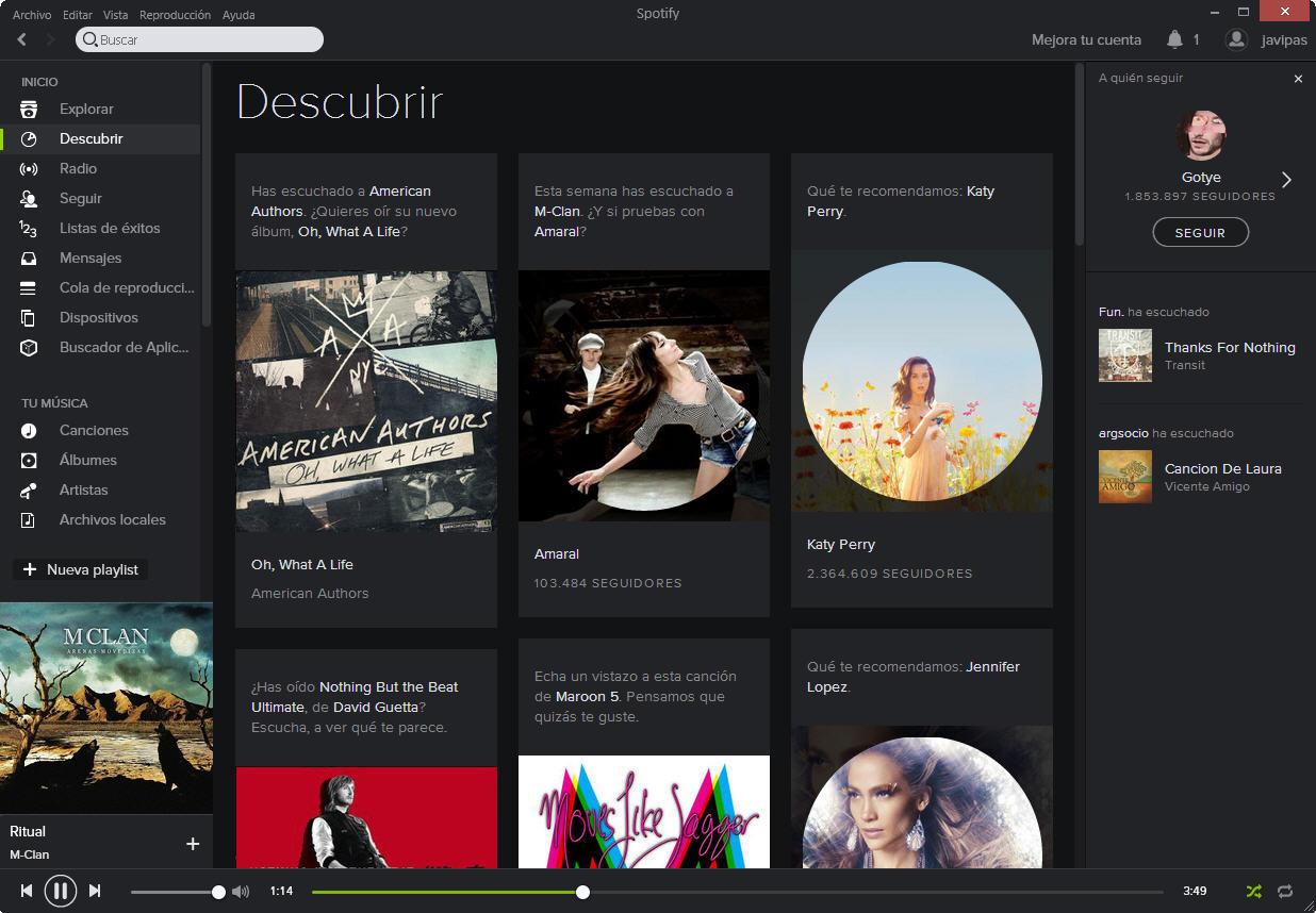 Foto de Nuevo Spotify (4/10)