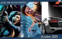 Guía de lanzamientos: octubre de 2009