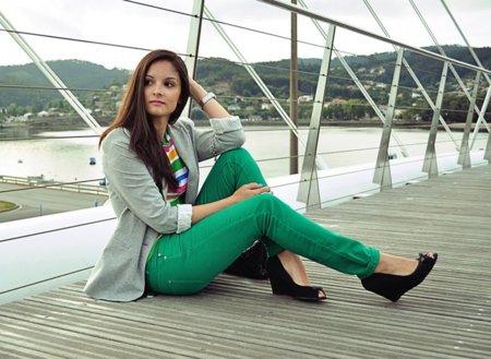 Pantalones verdes Alba OC