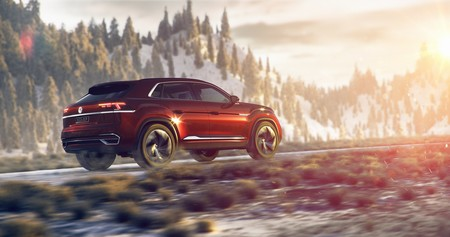 Volkswagen Atlas Cross Sport Concept 6