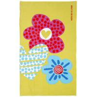 Una toalla muy florida