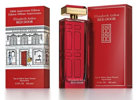 Edición limitada de la fragancia Red Door de Elizabeth Arden conmemora su centenario