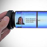 Así es MagicScroll, la tableta con pantalla flexible que se enrolla como un pergamino