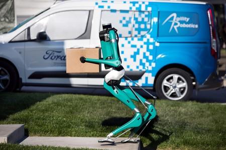 Ford Digit, el robot que trabajará codo a codo con los coches autónomos