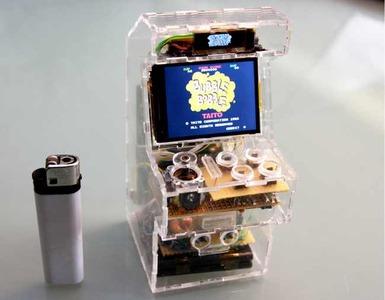 Genial mini arcade con una Raspberry Pi