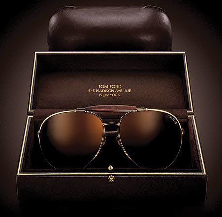Las gafas de aviador de Tom Ford