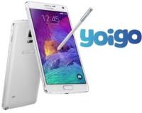 Precios Samsung Galaxy Note 4 con Yoigo