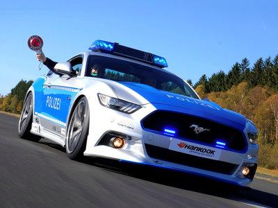 ¿Qué tal un Ford Mustang GT para la Polizei alemana?