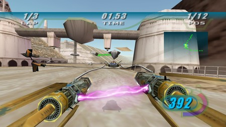El lanzamiento de Star Wars Episode I: Racer se retrasa en PS4