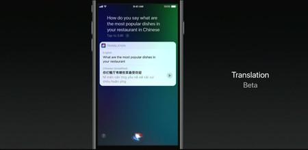 Siri en iOS 11