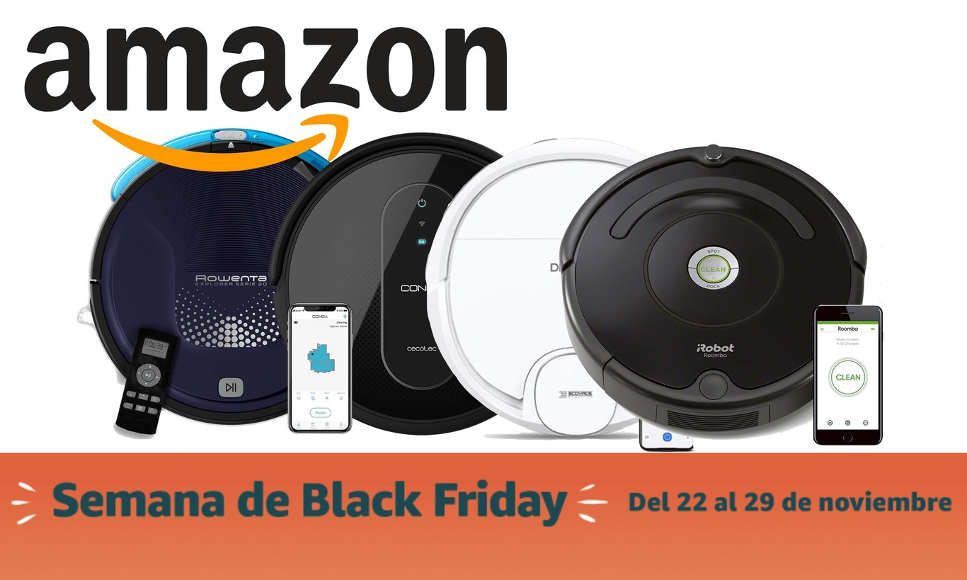 Las mejores ofertas de aspiradores en el Black Friday de Amazon