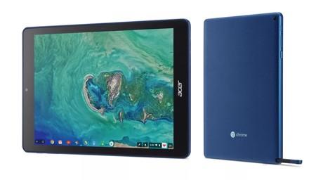 Acer Chromebook Tab 10: la primera tablet con ChromeOS llega con puntero Wacom y enfocada al sector educativo