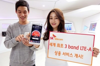 SK Telecom pone en marcha el primer servicio LTE-A tribanda