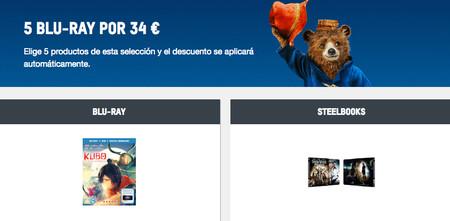 Hasta fin de mes, en Zavvi, 5 películas Blu-ray por 34 euros y envío gratis