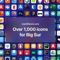 En esa web puedes descargar más de 2000 iconos para macOS Big Sur que sí lucen consistentes con el diseño