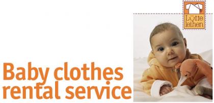 Ropa de alquiler para bebés en Lütte Leihen