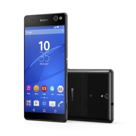 Sony Xperia C5 Ultra, el smartphone sin marcos y con gran cámara frontal es oficial