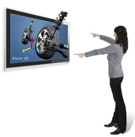 iPoint 3D permite la visualización y el control en 3D sin necesidad de periféricos