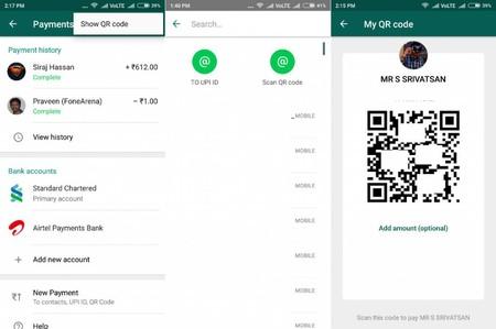 WhatsApp Pay incorpora los casi olvidados en Occidente códigos QR para facilitar los pagos