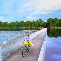 Un carril atravesando un lago, el parking de bicicletas con mayor capacidad del mundo y el resto de proyectos de la BAB 2019