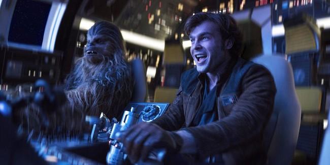 Han Solo Chewie Star Wars Story