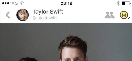 Las cuentas fake de famosos invaden Peach. La imagen de la semana