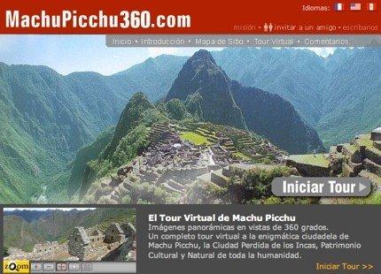 Tour virtual comentado por Machu Picchu