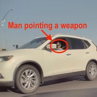Le dispara a un Tesla y las cámaras del auto lo delatan: así fue como TeslaCam ayudó a capturar al responsable
