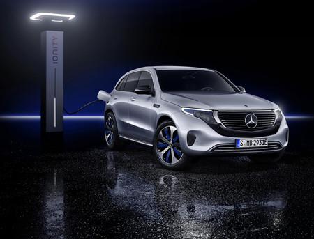 Mercedes EQC Ionity