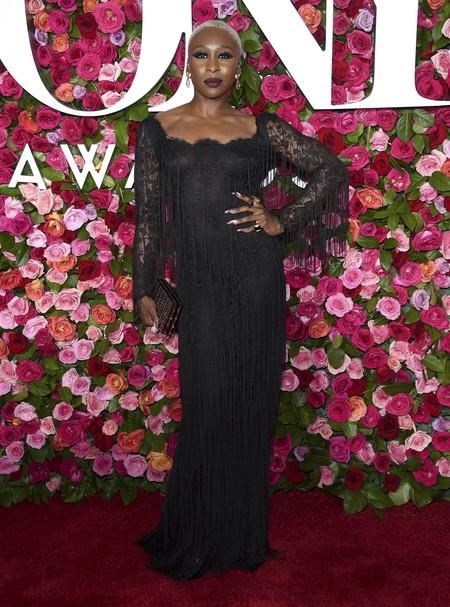 alfombra roja tony awards Cynthia Erivo
