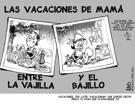 Mamá, ¿has descansado estas vacaciones?