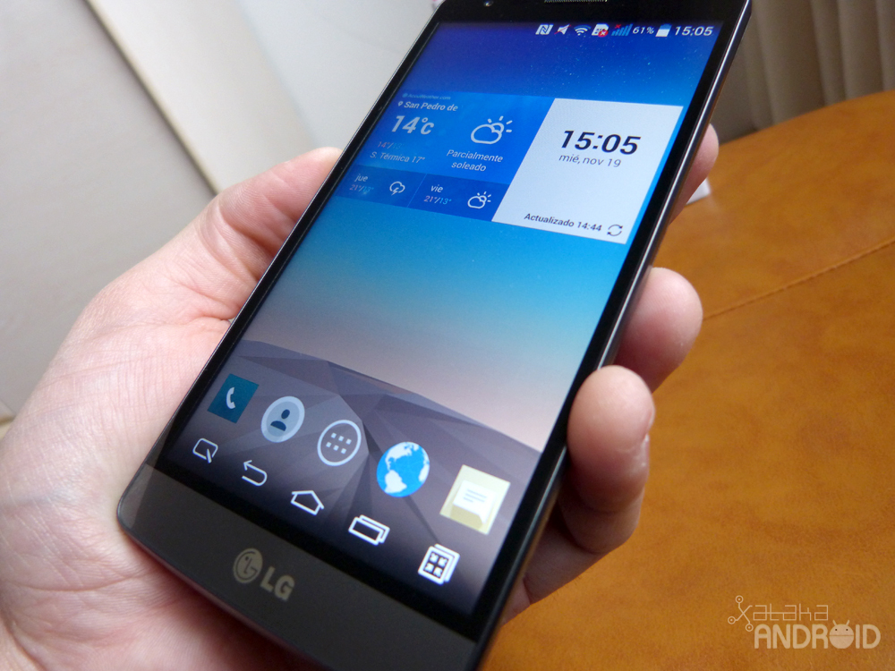 LG G3 S, diseño