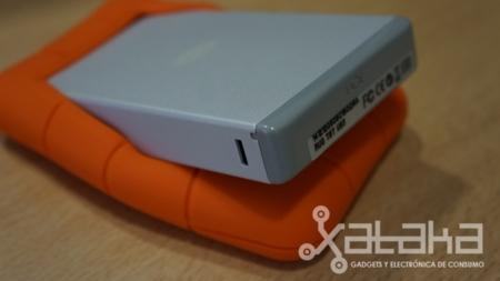 Lacie Rugged USB thunderbolt prueba protección